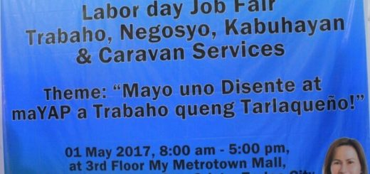 TESDA Tarlac Joins Job Fair at Metrotown Mall