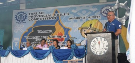 TESDA Tarlac Holds 2017 Provincial Skills Competition