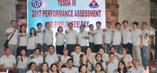 TESDA III 2017 Performance Assessment And Employees Day