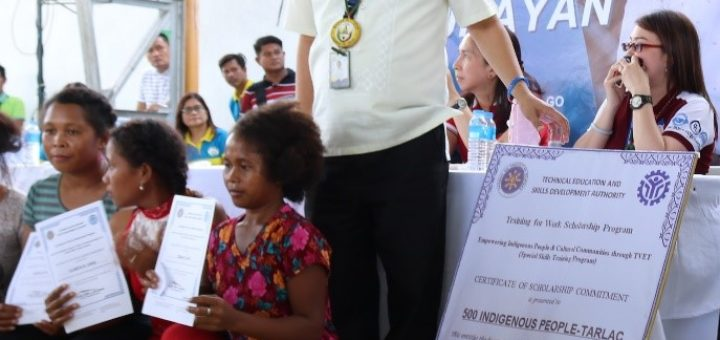 TESDA Tarlac Launches 2018 National Integration Scholarship Program