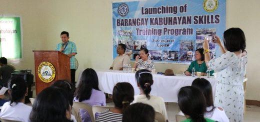 TESDA Tarlac Launches Barangay Kabuhayan Skills Training Program