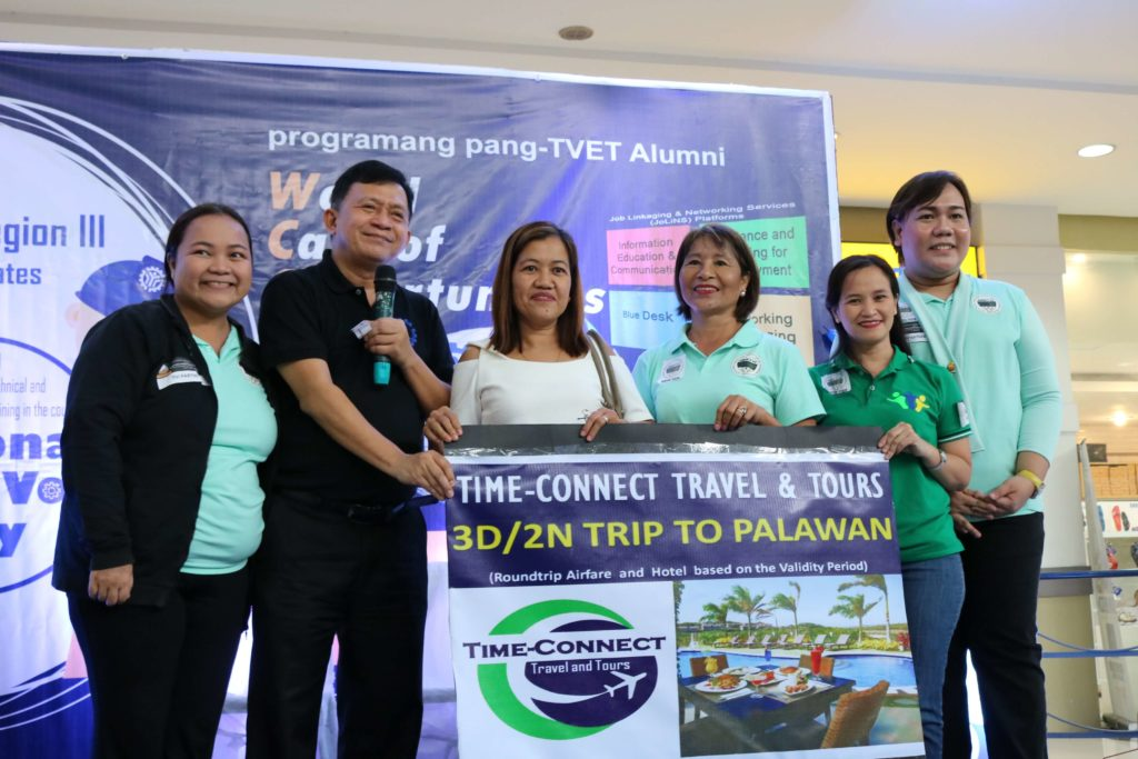 TESDA Tarlac Chairs World Café of Opportunity at Robinson Pampanga