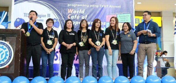 TESDA Tarlac Chairs World Café of Opportunity at Robinson Pampanga
