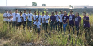 TESDA Tarlac Plants Trees in Celebration of Women's Month