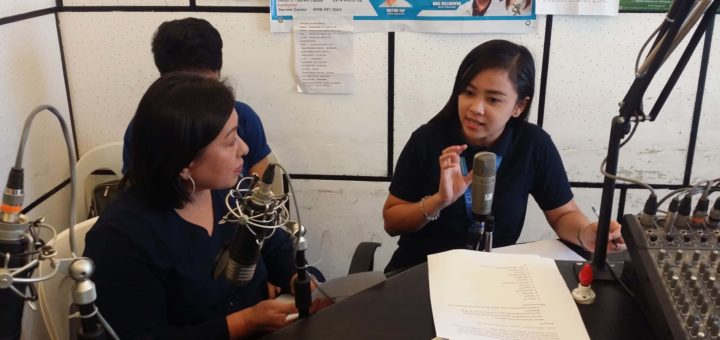 TESDA Tarlac PD Goes Live Over Local Radio Station