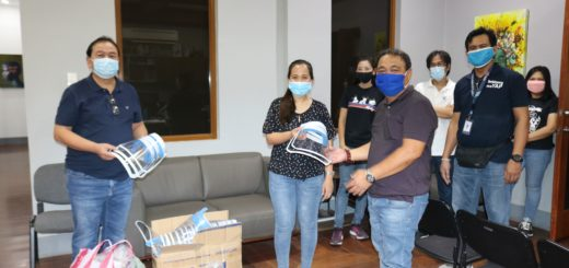 TESDA Tarlac Produces face shields and face masks for Tarlac Frontliners